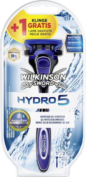 Wilkinson Sword Hydro 5 Rasierer + 1 Klinge gratis
