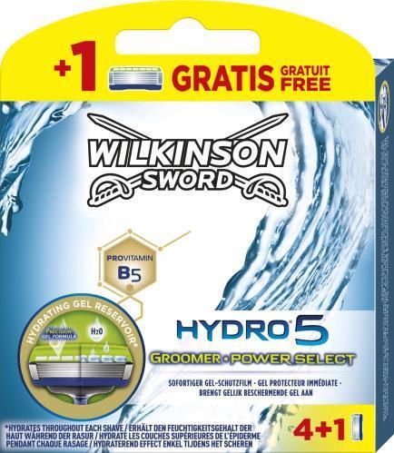 Wilkinson Sword Hydro 5 Groomer & Power Select Klingen
