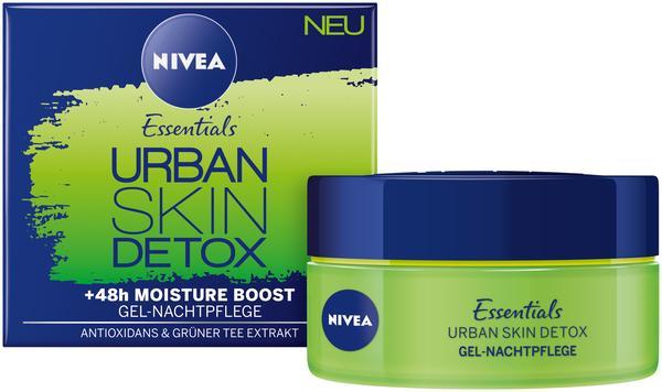 Nivea Essentials Urban Skin Detox Gel Nachtpflege