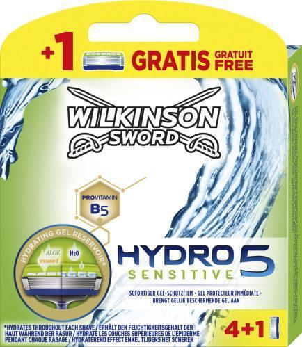 Wilkinson Sword Hydro 5 Sensitive Klingen 4+1