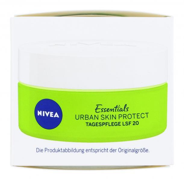 Nivea Urban Skin Protect Tag LSF 20