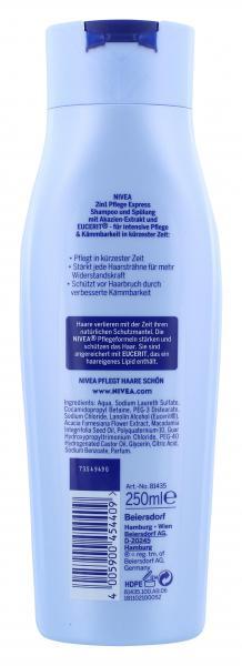 Nivea Shampoo & Spülung Pflege Express