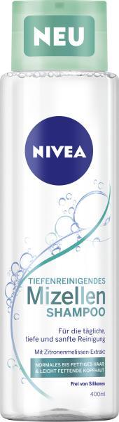 Nivea Shampoo Mizellen Tiefenreinigend