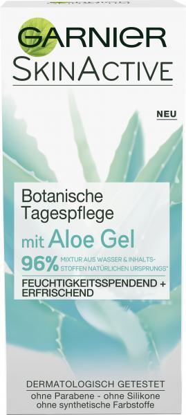 Garnier Skin Active Botanische Tagespflege mit Aloe Gel