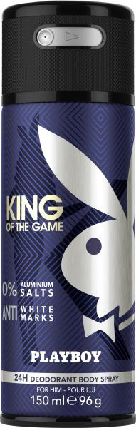 Playboy King of the Game Deodorant Body Spray