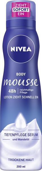 Nivea Body Mousse Tiefenpflege Serum