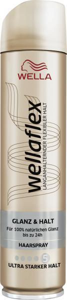Wella Wellaflex Haarspray Glanz & Halt ultra starker Halt