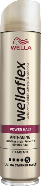 Wella Wellaflex Haarlack Power Halt Anti-Aging ultra starker Halt