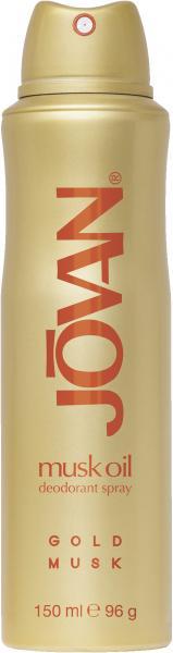 Jovan Gold Musk Oil Deo Spray
