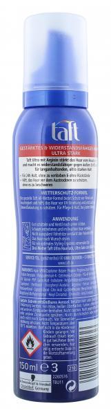 Schwarzkopf 3 Wetter Taft Ultra Schaumfestiger ultra stark