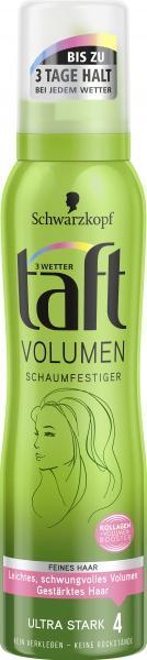 Schwarzkopf 3 Wetter Taft Volumen Schaumfestiger ultra stark