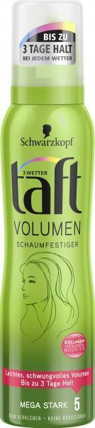 Schwarzkopf 3 Wetter Taft Volumen Schaumfestiger mega stark