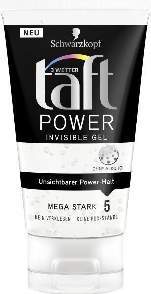 Schwarzkopf 3 Wetter Taft Power Invisible Gel mega stark
