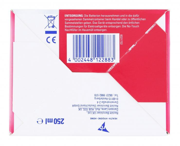 Sagrotan NoTouch Starter Set weiß Extra + Care Lotusblüte & Kamillenöl