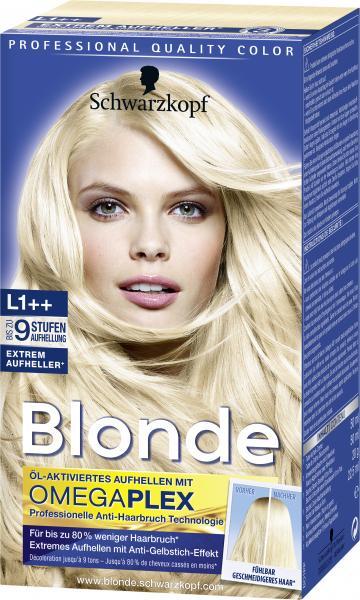 Schwarzkopf Blonde Extrem Aufheller Plus L1++