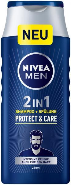 Nivea Men Protect & Care 2in1 Shampoo + Spülung