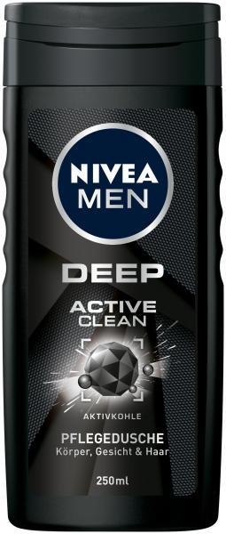 Nivea Men Deep Active clean Pflegedusche
