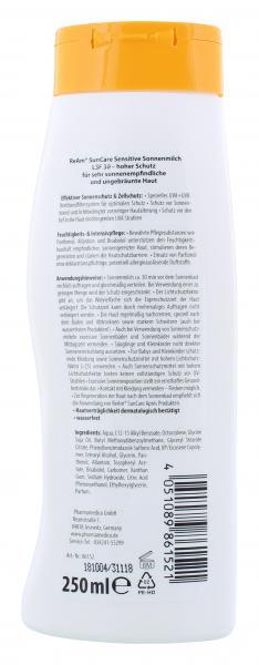 ReAm SunCare Sensitive Sonnenmilch LSF 30