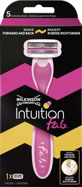 Wilkinson Sword Intuition f.a.b. Apparat mit 1 Klinge