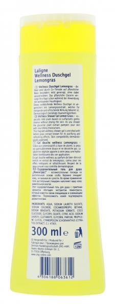 La Ligne Wellness Duschgel Lemongrass