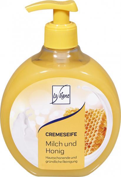La Ligne Cremeseife Milch & Honig