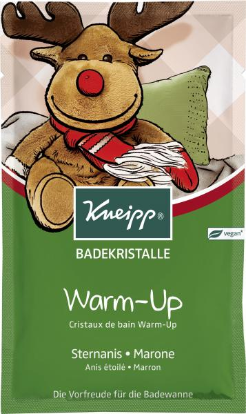 Kneipp Badekristalle Warm-Up Sternanis-Marone