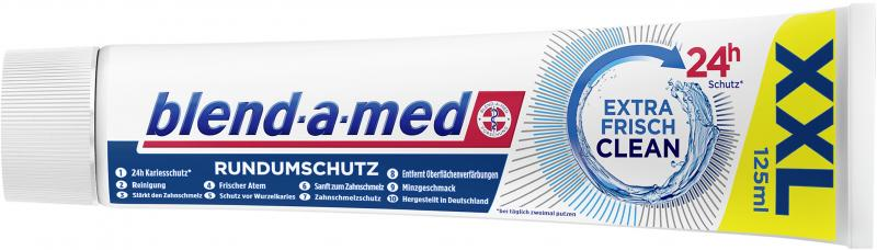 Blend-a-med Zahncreme Rundumschutz Extra Frisch Clean XXL