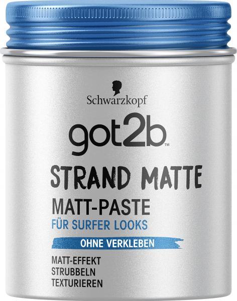 Schwarzkopf Got2b Matt-Paste Strand Matte