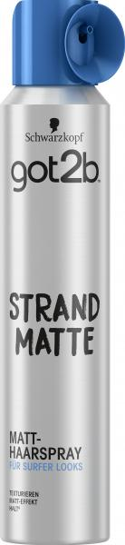 Schwarzkopf Got2b Matt-Haarspray Strandmatte