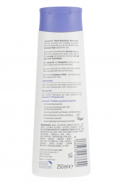 Cosnature Hydro-Body-Lotion Wasserlilie