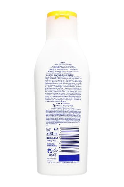 Nivea Sun Sensitiv Sofort Schutz Allergie LSF 50+