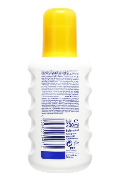 Nivea Sun Sensitiv Sofort Schutz Sonnenspray LSF 30