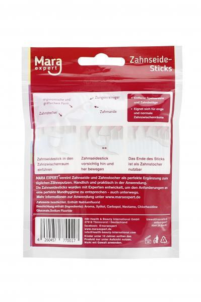 Mara Expert Zahnseide Stick Premium