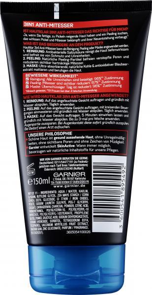 Garnier SkinActive Hautklar 3in1 Anti-Mitesser