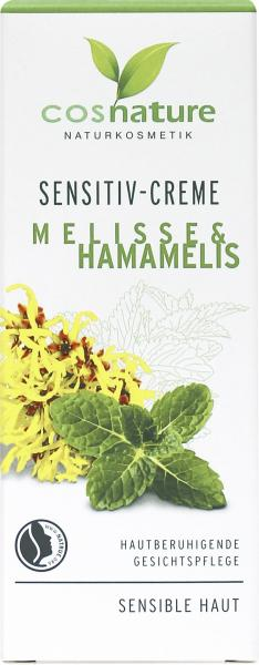 Cosnature Sensitive-Creme Melisse & Hamamelis