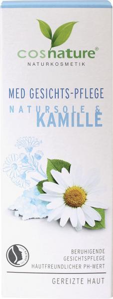 Cosnature Med Gesichts-Pflege Natursole & Kamille