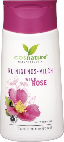 Cosnature Reinigungs-Milch Wildrose