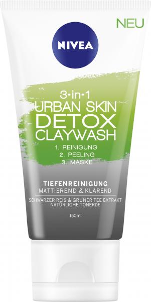 Nivea 3in1 Urban Skin Detox Claywash