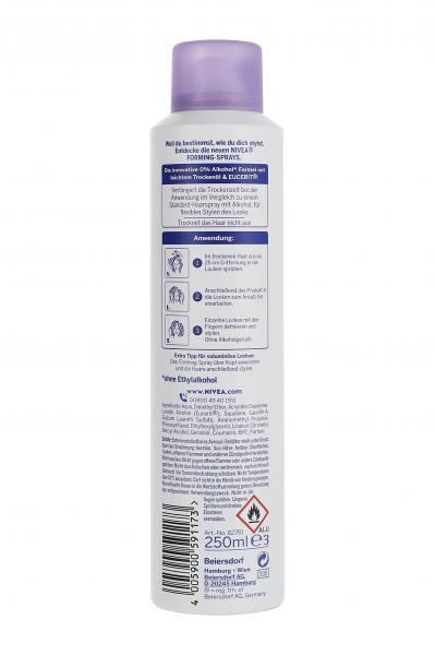 Nivea Locken Forming Spray Flexibler Halt