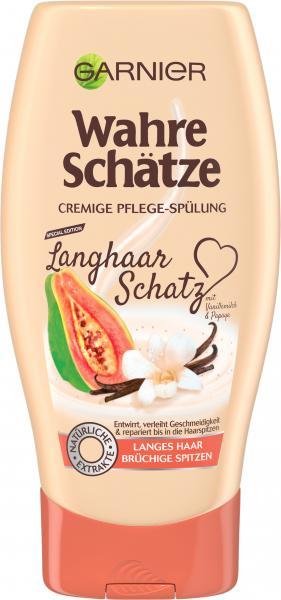 Garnier Wahre Schätze cremige Pflege-Spülung Langhaar Schatz