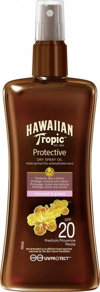 Hawaiian Tropic Protective Dry Spray Öl LSF 20
