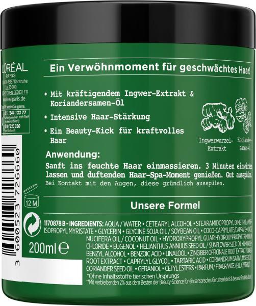 L'Oréal Botanicals Fresh Care Ingwer & Koriander Stärke-Haarkur