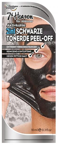 Montagne Jeunesse Men Peel-Off Maske Schwarze Tonerde