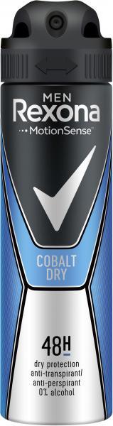 Rexona Men Motionsense Cobalt Dry Deospray