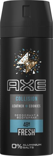 Axe Bodyspray Collision Leather + Cookies