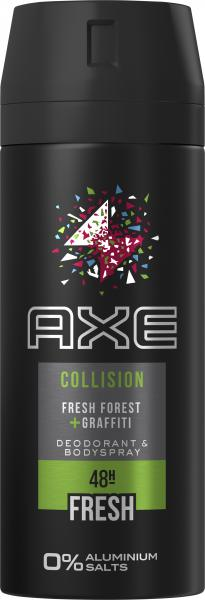 Axe Bodyspray Collision Fresh Forest + Graffiti
