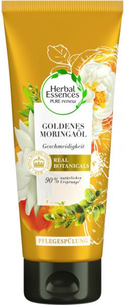Herbal Essences Pure:renew Pflegespülung Goldenes Moringaöl