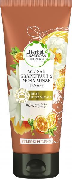 Herbal Essences Pure:renew Pflegespülung Weisse Grapefruit & Mosa Minze