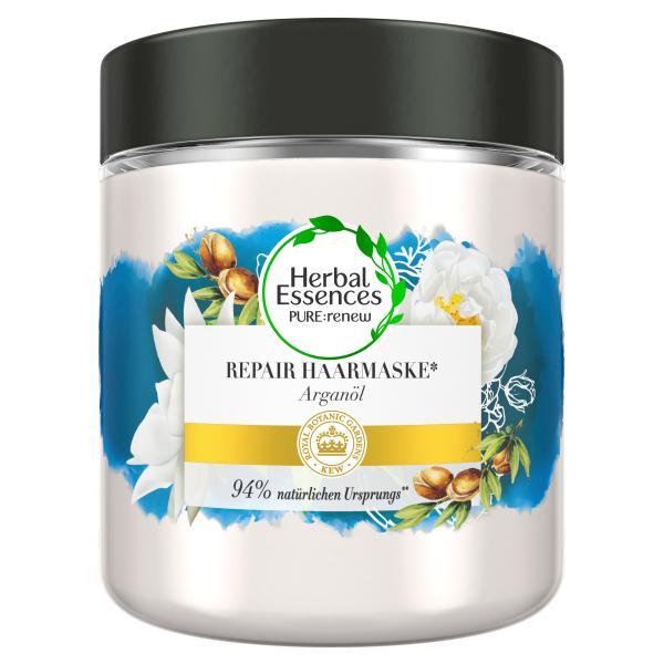 Herbal Essences Pure:renew Haarmaske Marokkanisches Arganöl