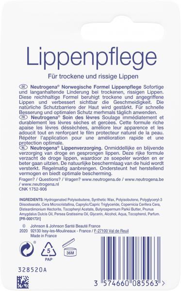 Neutrogena Norwegische Formel Lippenpflege LSF 4